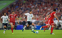 MUNICH, GERMANY - Tuesday, August 1, 2017: Liverpool's Roberto Firmino during the Audi Cup 2017 match between FC Bayern Munich and Liverpool FC at the Allianz Arena. (Pic by David Rawcliffe/Propaganda)
