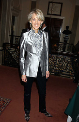 Writer JOANNA TROLLOPE at a party to celebrate the anniversary of the launch of Talking Books held at The Arts Club, 40 Dover Street, London W1 on 8th November 2005.<br /><br />NON EXCLUSIVE - WORLD RIGHTS