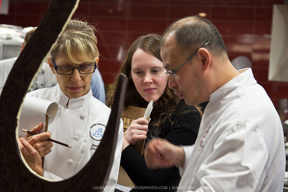 Cacao Barry Callebaut Canadian Intercollegiate Chocolate Competition- day 1