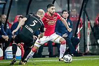 Jop van der Linden of Willem II, Alireza Jahanbakhsh of AZ Alkmaar