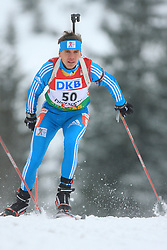 Alexsandr Chervyhkov (KAZ) at Men 20 km Individual at E.ON Ruhrgas IBU World Cup Biathlon in Hochfilzen (replacement Pokljuka), on December 18, 2008, in Hochfilzen, Austria. (Photo by Vid Ponikvar / Sportida)