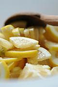 Slices of lemon