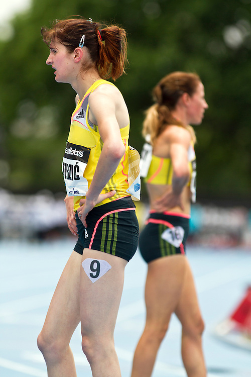 adidas Grand Prix Diamond League professional track & field meet: womens 1500 meters, Amela TERZI?, Serbia