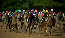 in the 142nd running of the Kentucky Derby, Saturday, May 3, 2016 at Churchill Downs in Louisville.