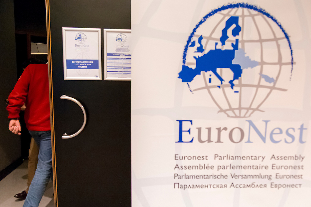 Fifth Ordinary Session of the Euronest Parliamentary Assembly. <br /> Meeting of the Committee on Political Affairs, Human Rights and democracy.