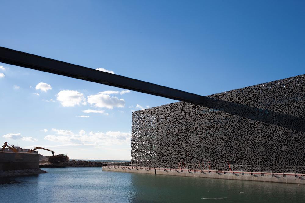 Le Mucem, Marseille, Février 2013