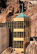 The Hoover Dam Visitor Center, Hoover Dam National Historic Landmark, Nevada