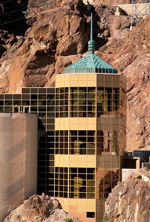 The Hoover Dam Visitor Center, Hoover Dam National Historic Landmark, Nevada
