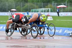 06/08/2017; Malter, Ludwig, T54, AUT, Jimenez-Vergara, Miguel, USA at 2017 World Para Athletics Junior Championships, Nottwil, Switzerland