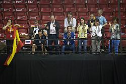 Family Barbancon Mestre Morgan and boyfriend Philippaerts Nicola, (BEL)<br /> Longines FEI World Cup™ Dressage Final I<br /> Las Vegas 2015<br />  © Hippo Foto - Dirk Caremans<br /> 17/04/15