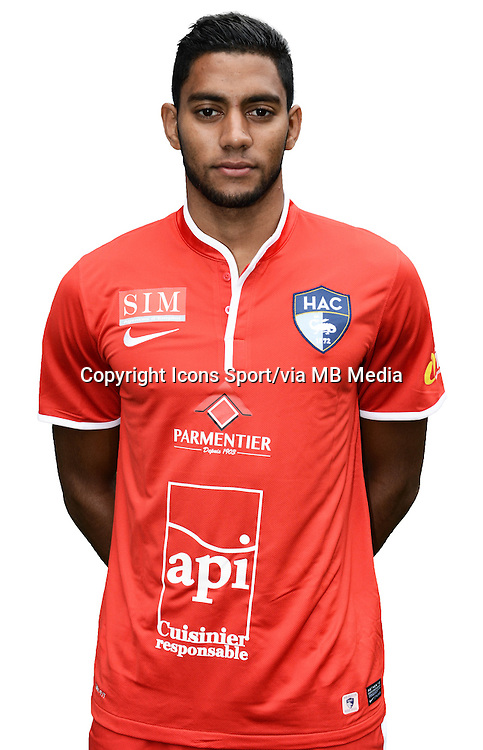 Zacharie BOUCHER - 04.10.2013 - Photo Officielle - Le Havre -<br /> Photo : Icon Sport