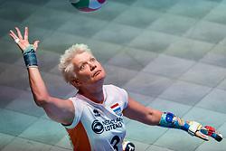 16-07-2018 NED: World Championship sitting volleyball women, Arnhem<br /> Netherlands - Rwanda 3-0 / Djoke van Marum #3 of Netherlands