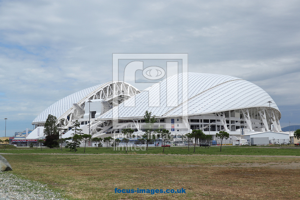 General views of the FIFA 2017 Confederations Cup preparations at Fisht Stadium, Sochi<br /> Picture by EXPA Pictures/Focus Images Ltd 07814482222<br /> 16/06/2017<br /> *** UK &amp; IRELAND ONLY ***<br /> <br /> EXPA-EIB-170616-0115.jpg