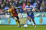 Reading FC striker (12) Gareth McCleary during the Sky Bet Championship match between Reading and Birmingham City at the Madejski Stadium, Reading, England on 9 April 2016. Photo by Mark Davies.