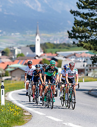 25.04.2018, Innsbruck, AUT, ÖRV Trainingslager, UCI Straßenrad WM 2018, im Bild Patrick Konrad (AUT), Gregor Mühlberger (AUT) // during a Testdrive for the UCI Road World Championships in Innsbruck, Austria on 2018/04/25. EXPA Pictures © 2018, PhotoCredit: EXPA/ JFK