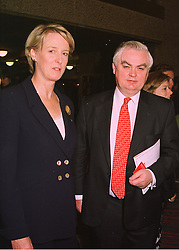 MR & MRS NORMAN LAMONT he is the former Chancellor of the Exchequer, at a reception in London on 2nd June 1998.MIA 6