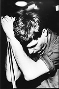 Ian Curtis, Moonlight Club, West Hampstead, London 1981