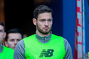 Craig Gordon(#1) of Celtic FC before the Betfred League Cup semi-final match between Heart of Midlothian FC and Celtic FC at the BT Murrayfield Stadium, Edinburgh, Scotland on 28 October 2018.