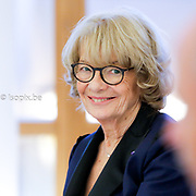 Portrait of Elisabeth MORIN-CHARTIER in the European Parliament in Strasbourg<br /> Photo:  @dainalelardic<br /> .<br /> .<br /> .<br /> @isopixbelgium @europeanparliament  #picoftheday #photooftheday #parlementeuropeen #politics #europeanunion #strasbourg #ilovestrasbourg #europe @emorinchartier #emorinchartier