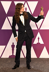 "Ludwig Goransson, winner of the Best Original Score Award for ""Black Panther"" at the 91st Annual Academy Awards (Oscars) presented by the Academy of Motion Picture Arts and Sciences.<br /> (Hollywood, CA, USA)"