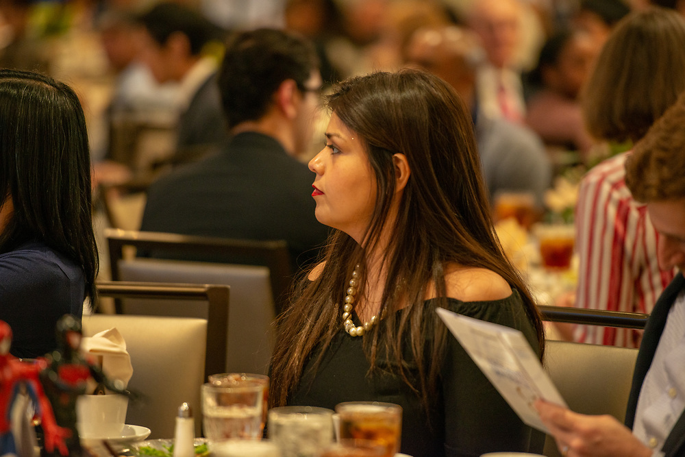 The Houston Independent School District paid tribute to the top students from each high school's graduating class during the annual Scholars Banquet on April 17, 2019.