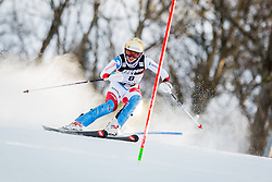 """Michelle Gisin (SUI) during FIS Alpine Ski World Cup 2016/17 Ladies Slalom race named """"Snow Queen Trophy 2017"""", on January 3, 2017 in Course Crveni Spust at Sljeme hill, Zagreb, Croatia. Photo by Žiga Zupan / Sportida"""