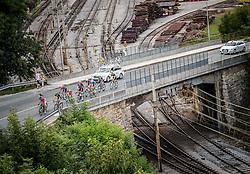 Riders during cycling race 48th Grand Prix of Kranj 2016 / Memorial of Filip Majcen, on July 31, 2016 in Kranj centre, Slovenia. Photo by Vid Ponikvar / Sportida
