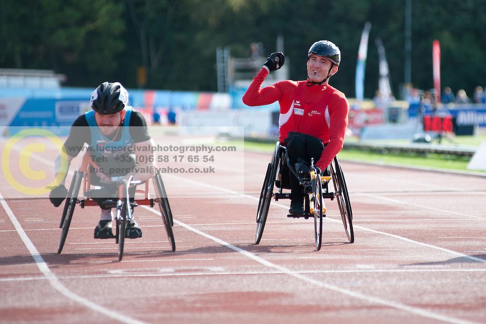 Beat Bosch, Artem Shishkovskiy, Mario Trindade, 2014 IPC European Athletics Championships, Swansea, Wales, United Kingdom
