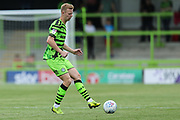 Forest Green Rovers Nathan McGinley(19) during the EFL Sky Bet League 2 match between Forest Green Rovers and Grimsby Town FC at the New Lawn, Forest Green, United Kingdom on 17 August 2019.