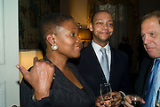 Baroness Amos and Paul Pearson, Launch of  ñMy Beautiful Gameî by Nancy DellÍOlio<br />