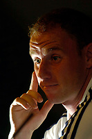 Photo. Jed Wee.<br /> Newcastle United Press Conference, 30/07/2004.<br /> Newcastle's new signing Nicky Butt.