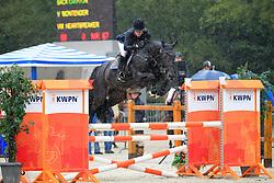 Müller Caroline (GER) - Back Gammon<br /> KWPN Paardendagen 2010<br /> ©  DigiShots - Leanjo de Koster