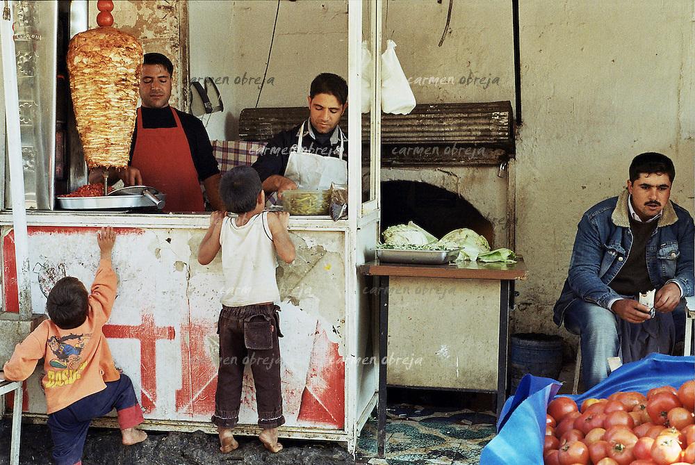 doner kebap in Sanliurfa
