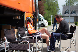 Amy Pieters of Boels Dolmans prepares for Stage 2 of the Festival Elsy Jacobs - a 111.1 km road race, starting and finishing in Garnich on April 29, 2018, in Luxembourg. (Photo by Balint Hamvas/Velofocus.com)