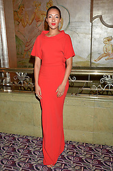 YASMIN EVANS at the WGSN Global Fashion Awards 2015 held at The Park Lane Hotel, Piccadilly, London on 14th May 2015.