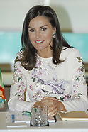 070819 Queen Letizia at the International Summit of Cancer Research