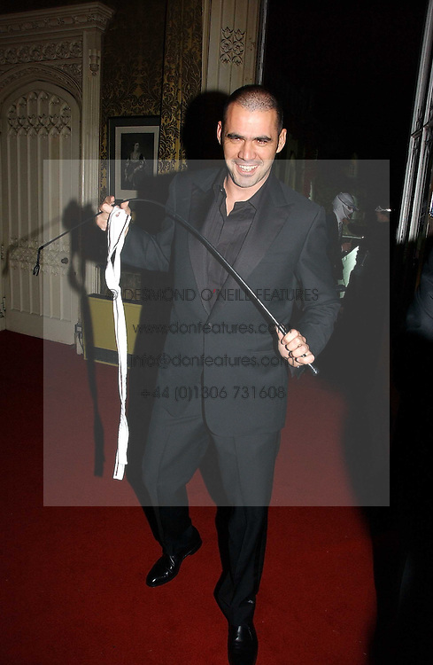 Fashion designer ROLAND MOURET at the 2006 Moet & Chandon Fashion Tribute in honour of photographer Nick Knight, held at Strawberry Hill House, Twickenham, Middlesex on 24th October 2006.<br />