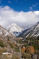 Mount Baldy Village First Winter Snow, San Gabriel Mountains, California
