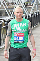 LONDON - April 17: Iwan Thomas at the Virgin London Marathon - Celebrity Photocall (Photo by Brett D. Cove)