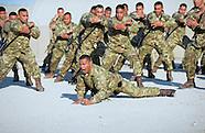 King Tupou VI Visits Tongan Troops in Afghanistan