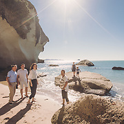 Diane & Family Cathedral Cove