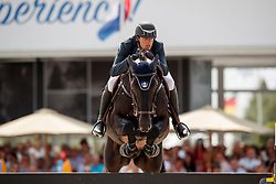 Wathelet Gregory, BEL, Iron Man vd Padenborre<br /> Rolex Grand Prix CSI 5* - Knokke 2017<br /> © Hippo Foto - Dirk Caremans<br /> 09/07/17