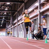 Cougars Track&Field Intersquad on November 19 at Centre for Kinesiology, Health and Sport. Credit: Arthur Ward/Arthur Images