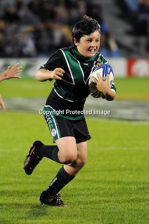 Kids Rugby League at Mt Smart Stadium, Auckland, New Zealand on Saturday 5 May 2012. Photo: Andrew Cornaga/photosport.co.nz