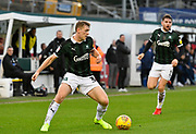 Luke Jephcott (35) of Plymouth Argyle during the EFL Sky Bet League 1 match between Plymouth Argyle and Accrington Stanley at Home Park, Plymouth, England on 22 December 2018.