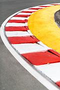 June 7-11, 2018: Canadian Grand Prix. Curb detail