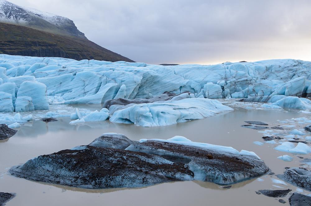 Ice, Svínafellsjökull, Iceland