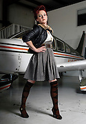 Flourish fashion shoot at Cape Regional Airport on Wednesday, Oct. 6, 2010.