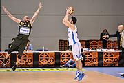 DESCRIZIONE : Final Eight Coppa Italia DNC IG Cup RNB Rimini 2015 Finale Basket Scauri - Alianz San Severo<br /> GIOCATORE : Andrea Lombardo Carlo Menzione<br /> CATEGORIA : Tiro Tre Punti Controcampo Difesa<br /> SQUADRA : Basket Scauri<br /> EVENTO : Final Eight Coppa Italia DNC IG Cup RNB Rimini 2015<br /> GARA : Basket Scauri - Alianz San Severo<br /> DATA : 08/03/2015<br /> SPORT : Pallacanestro <br /> AUTORE : Agenzia Ciamillo-Castoria/L.Canu