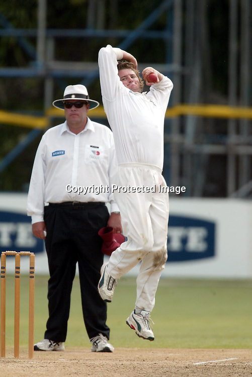 23 February 2004, State Championship Cricket, Auckland Aces vs Northern Knights, Eden Park, Auckland, New Zealand.<br />